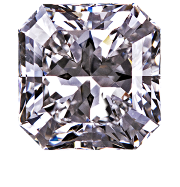 1 Carat Radiant Brilliant Cut Loose Diamond